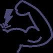 Icone de energia Novo Gel Volumão